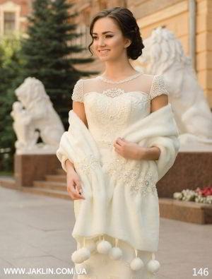 Свадебная шубка модель 146