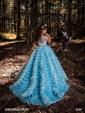 Детское платье модель 2124