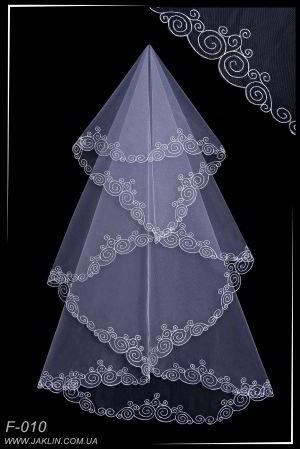 Свадебная фата модель F-010