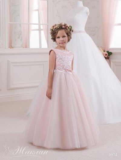 Детское платье модель 1074
