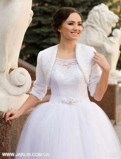 Свадебная шубка модель 128