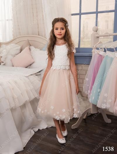 Детское платье модель 1538