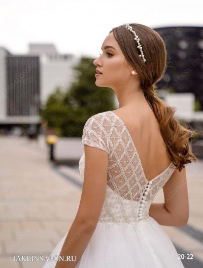 Свадебное платье 20-22